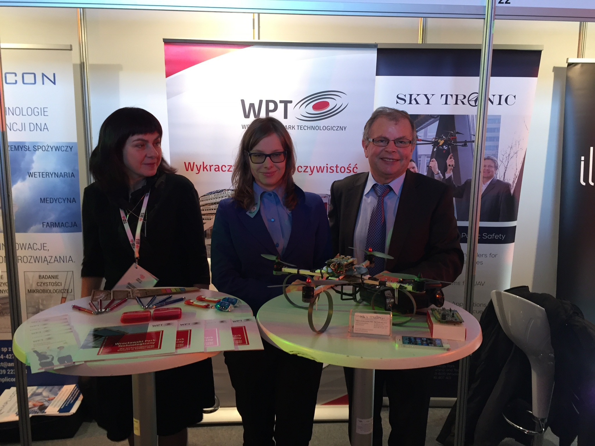 Sky Tronic presented its technology at Made in Wroclaw exhibition