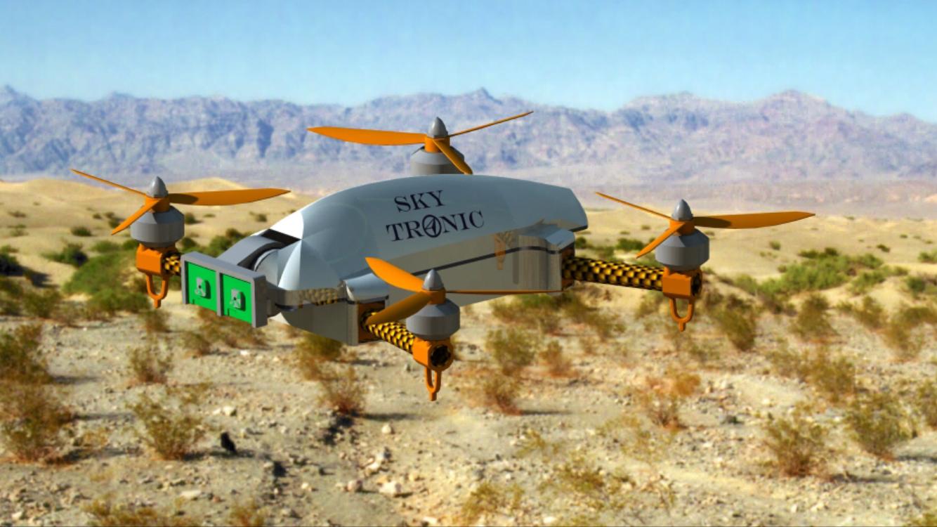 Sky Tronic i Budimex pracują nad autonomicznym dronem do inwentaryzacji terenów budowlanych