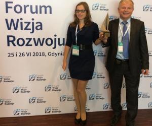 Sky Tronic zwycięzcą nagrody gospodarczej Forum Wizja Rozwoju w Gdyni w kategorii Startup