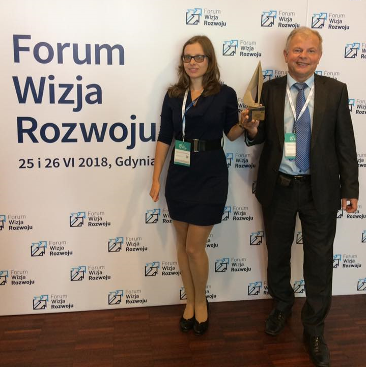 Sky Tronic declared a winner of Start-up Economy Award at Forum of Vision of Growth