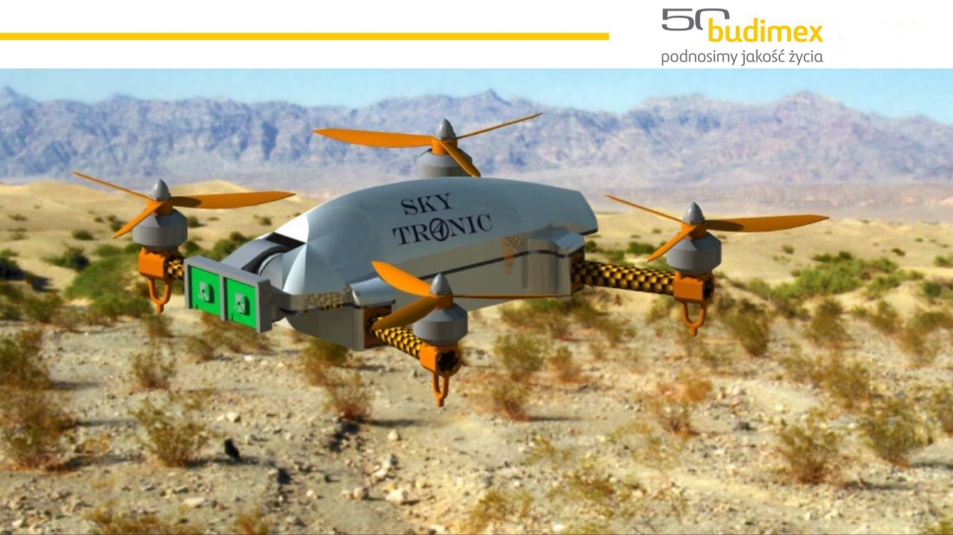 Sky Tronic and Budimex collaborate on development of drone for monitoring of construction space in 3D